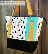 Classic Carryall Handbag & Tote Pattern by Andrie Designs