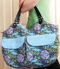 Rhine Valley Bag Pattern by Charmed Liebling
