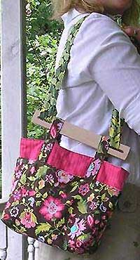 Cheryl's Bag Pattern with Handles by Marlous Designs