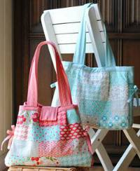Louisa Bag Pattern by Clover & Violet
