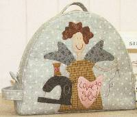 Angel Project Tote Pattern by The Birdhouse Patchwork Designs