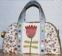 Eva Zip Tote Pattern by The Birdhouse
