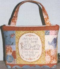 Ellie's Tale Zip Tote Pattern by The Birdhouse