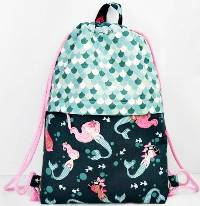 Drawstring Backpack Pattern by AppleGreen Cottage
