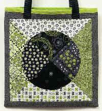 Socks and Dots Tote Bag Pattern by Urban Elementz
