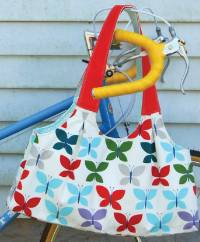 The Scoop Tote Pattern by Green Bee