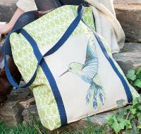 Stow Away Tote Pattern by Rachel Rossi