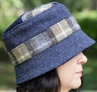 Heacham Cloche Hat Pattern by Charlie's Aunt