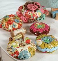 Yo Yo Pin Cushions Pattern by Indygo Junction