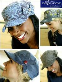 Classic Cap Hat Pattern by Indygo Junction