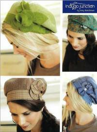 Banded Beret Hat Pattern by Indygo Junction
