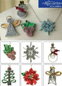 Zipper Christmas Cheer Pattern by Indygo Junction