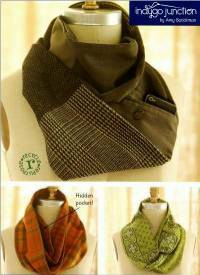 Infinity Pocket Scarf Pattern by Indygo Junction