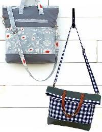 Bombay Bag Pattern by Kati Cupcake