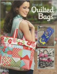 Best of Quilted Bags Pattern Booklet by Quilt and Sew Leisure Arts