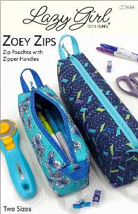 Zoey Zips Pattern by Lazy Girl Designs