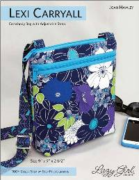 Lexi Carryall Crossbody Bag Pattern by Lazy Girl Designs