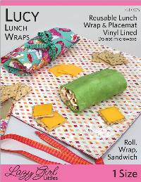 Lucy Lunch Wraps Pattern by Lazy Girl Designs