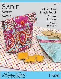 Sadie Sweet Sacks Pattern by Lazy Girl Designs