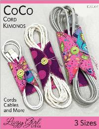 Coco Cord Kimono Pattern by Lazy Girl Designs