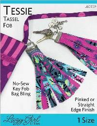 Tessie Tassel Fob Pattern by Lazy Girl Designs