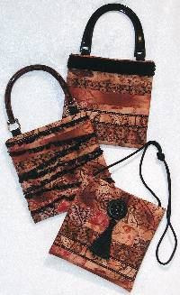Katy Bags Pattern by Lazy Girl Designs