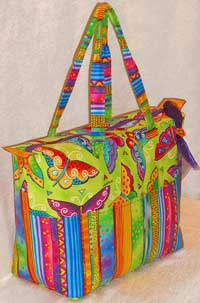 Summer Tote Pattern by Lazy Girl Designs