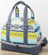 Townsend Travel Bag Pattern by Sallie Tomato