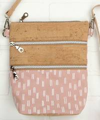 Myrna Enlarged Zippy Crossbody Bag Pattern by Swoon Sewing Patterns