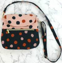 Ginger Crossbody Bag Pattern by Sallie Tomato