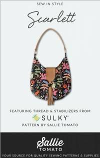 The Scarlett Purse Pattern by Sallie Tomato