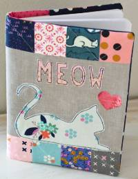 MEOW Composition Book Cover by Therm O Web