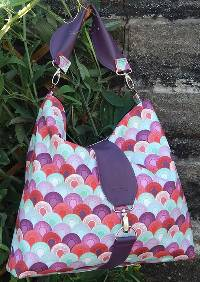 The Reversible Hobo Bag Pattern by Mrs H