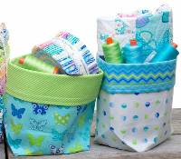 2 Fat Quarter Bucket Pattern by Me and My Sister Designs