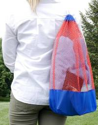 Mesh Bag Tutorial by We All Sew