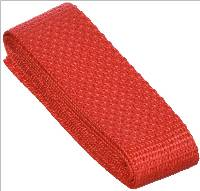 Polypropylene Webbing in red by PA Essentials