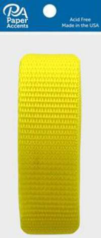 Polypropylene Webbing in yellow by PA Essentials