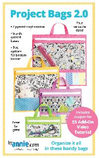 Project Bags 2.0 Pattern by Annie