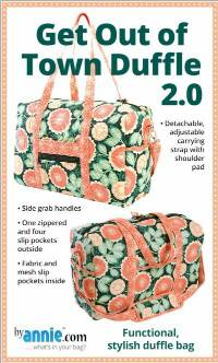 Get Out of Town Duffle 2.0 Pattern by Annie