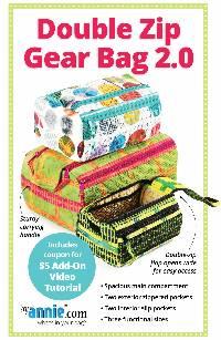 Double Zip Gear Bag 2.0 Pattern by Annie