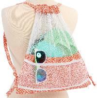Meshing Around Drawstring Backpacks Pattern by Annie