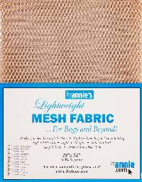 Natural MESH Fabric by Annie