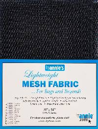 Navy Blue MESH Fabric by Annie