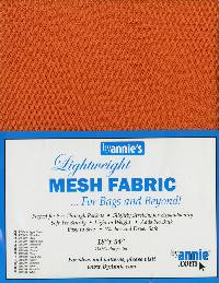 Pumpkin Lightweight MESH Fabric by Annie