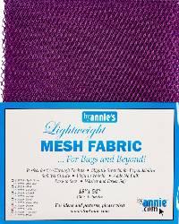 Lightweight Mesh Fabric Tahiti by Annie