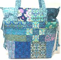 Boho Chic Bag Pattern by Quilts Illustrated