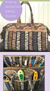 Tool Tote Pattern by Quilts Illustrated