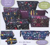 Travel Time Zips Pattern by Quilts Illustrated