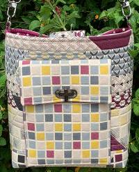 The Village Crossbody Bag Pattern by Quilts Illustrated