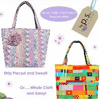 Summertime Carryall Pattern by Quilts Illustrated